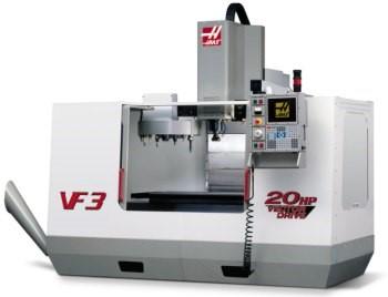 CNC Fräse HAAS VF3 für die Metallbeareitung