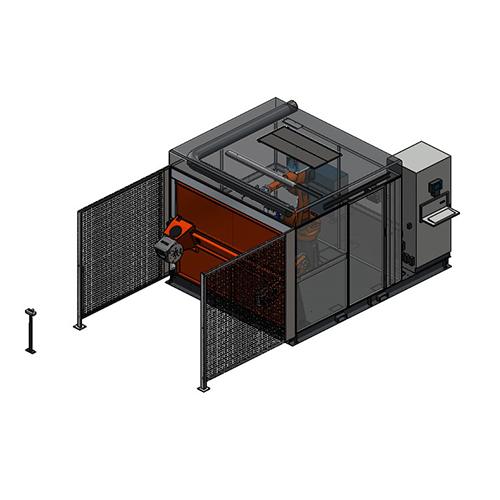 Roboterschweißanlage CLOOS QIROX