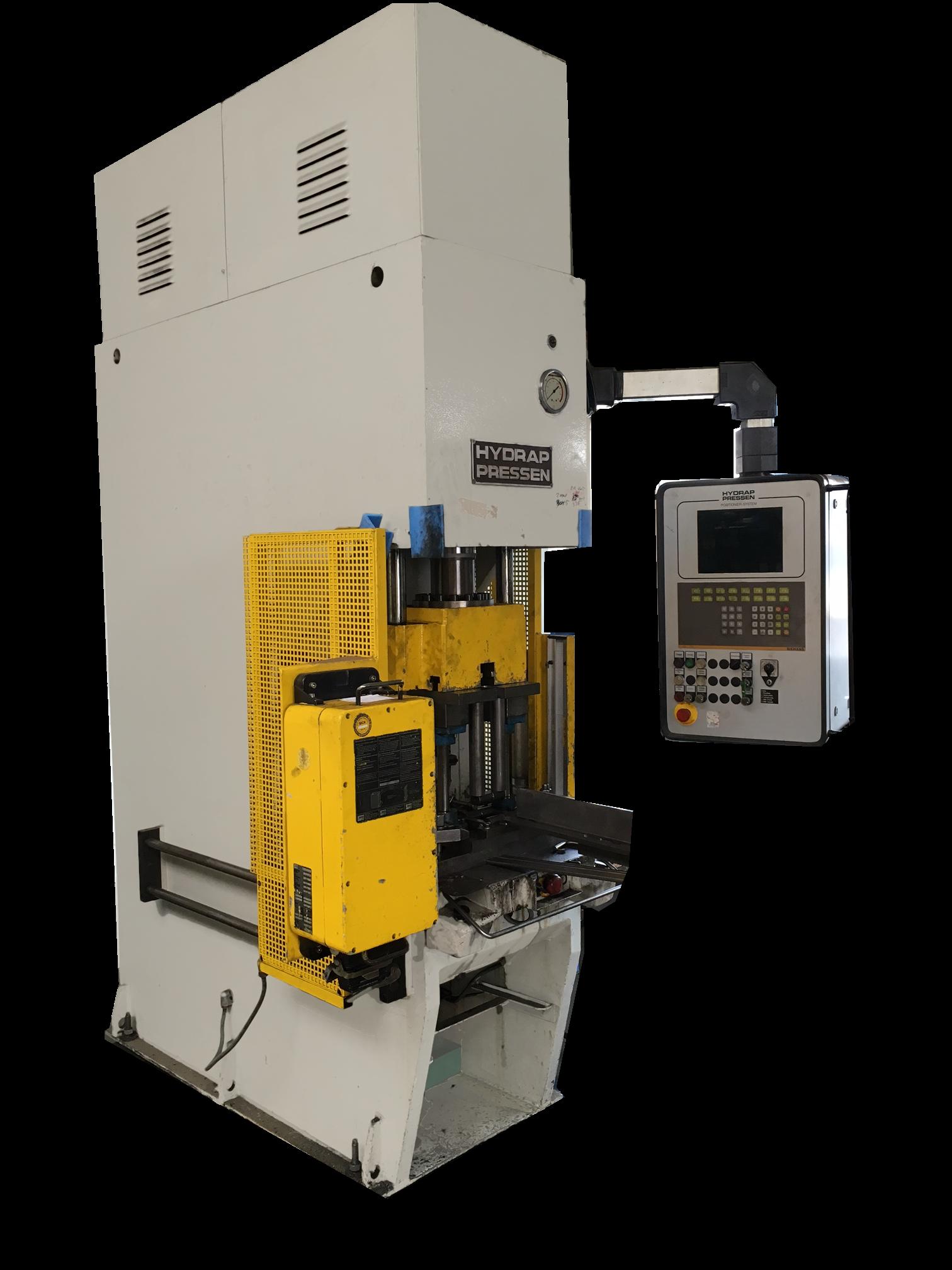 Hydraulische Presse HP 40 für die Bearbeitung von Werkstücken aus Metall